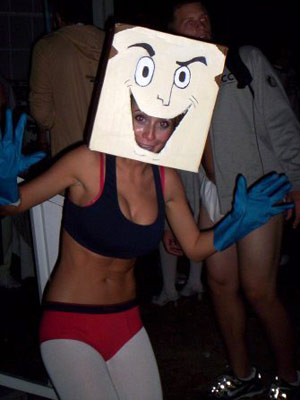 The Ren & Stimpy Show | Ashley Spivey from Ellerbe, NC ''I'm always searching for a random pop reference/anti-sexy Halloween costume. Powdered Toast Man from The Ren and Stimpy Show was…