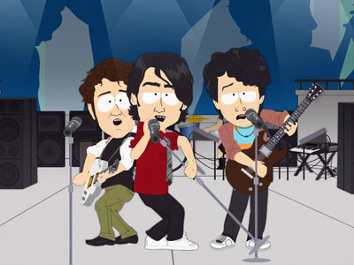 South Park | This episode starts off innocently (as many South Park episodes do): To bond with his new Jonas Brothers-loving girlfriend, Kenny agrees to wear a purity…