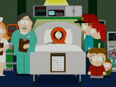 South Park | Kenny dies, again, but this time it's because heaven needs his supreme skills on the Sony PSP to battle the otherwise-overwhelming forces of Satan's invading…
