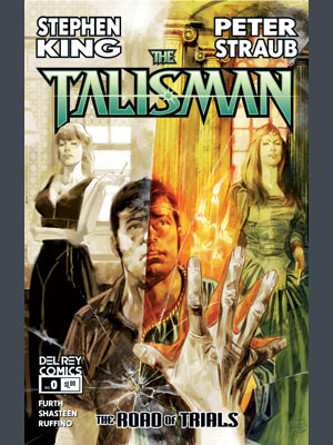 The Talisman | Starting on October 20, Del Rey Comics will release the first issue of The Talisman: The Road of Trials — which, in itself, is the…