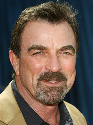 Tom Selleck | TOM SELLECK With the perfect mix of movie-star good looks and a boyish persona, the famously mustachioed Tom Selleck rocked Magnum, P.I. And His Sexiness…