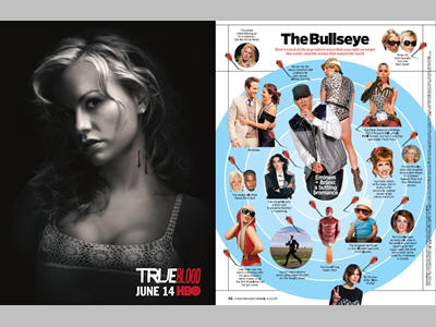 Adjacency to EW's The Bullseye - A look at the pop culture news that was right on target and the events that missed the mark
