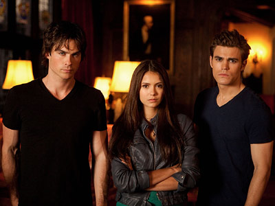 The Vampire Diaries, Ian Somerhalder, ... | Proving you can't go wrong in today's market with vampires, Diaries isn't nearly as imaginative as True Blood , but it's not sticky-icky romantic, either.…