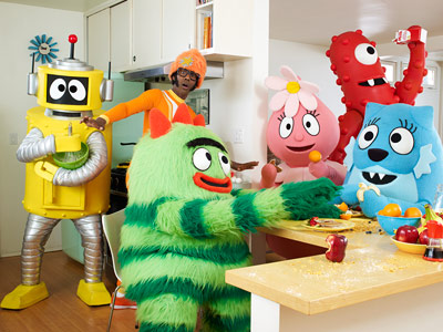 Yo Gabba Gabba! | Yo Gabba Gabba! is the coolest kids' show on TV, a hit with both preschoolers and indie-rock-loving parents who appreciate the guests (including Jack Black,…