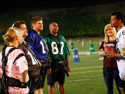 The Biggest Loser | The Biggest Loser recap: One Step Closer The final five contestants get a lesson in product placement before one goes home Allen took Amanda aside…