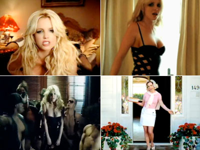 Britney Spears | Say it three times fast, and get your mouth washed out with soap. The song works up a minxy little schoolyard-chant buzz, but its obscenity…