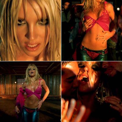 Britney Spears | Not a girl — definitely more than halfway to a woman. The hip-snaking club banger from her third studio album revealed a Britney out of…