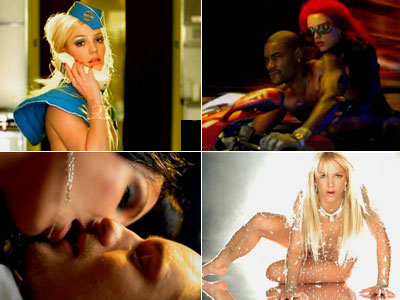 Britney Spears | From the opening horror-movie synth shrieks to that cooed, breathy vocal hook, Brit's ode to boys-as-lethal-substances delivers mainlined pop sugar supreme — with a dash…