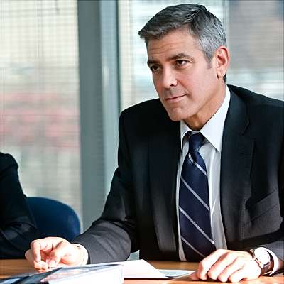 George Clooney, Up in the Air | George Clooney Up in the Air Two years after competing in this race for Michael Clayton , he returns with perhaps the most appealing star…