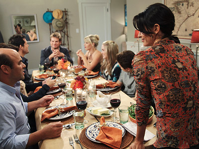 Cougar Town | COUGAR TOWN (Wednesday, Nov. 25) If I tell you that this very special Thanksgiving edition contains moments of actual warmth, will you still believe me…