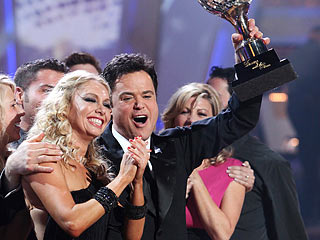 Donny Osmond, Dancing with the Stars | Donny's intensity and decades-in-the-making fan base took him to victory