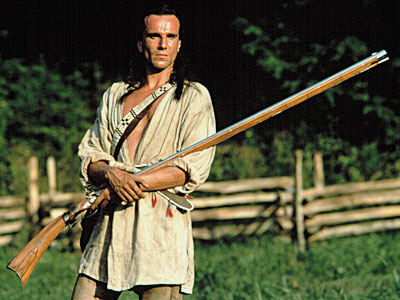 The Last of the Mohicans, Daniel Day-Lewis | The Last of the Mohicans (1992) I love the part where his hair and her hair are all lovely and just one beautiful joined bunch…