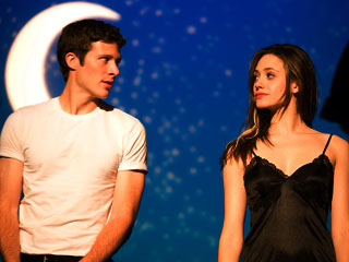 Emmy Rossum, Zach Gilford, ... | ILL MET BY MOONLIGHT High school gets confusing for Zach Gilford and Emmy Rossum in Dare