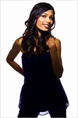 Freida Pinto | HAILS FROM: India SEXIEST IN: Slumdog Millionaire (2008) Some critics thought Pinto was too elegant to portray the abused orphan Latika in Danny Boyle's Oscar-nominated…