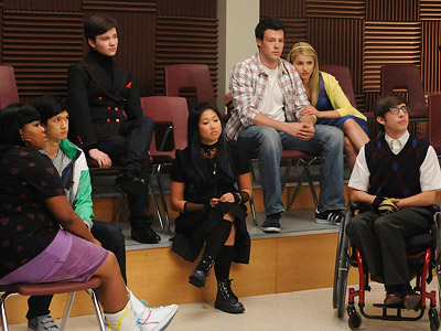 Glee | Glee recap: The Ballad of Rachel and Will One love song gets Rachel to set her sights on Will, and another gets Quinn in hot…