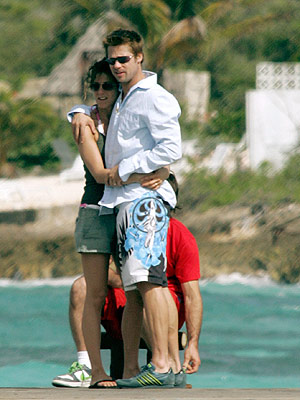 Brad Pitt, Jennifer Aniston   In early 2005, after nearly five years of marriage, Aniston filed for divorce from Pitt, and rumors flew that the sultry Jolie was the reason…
