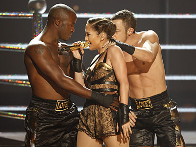 Jennifer Lopez | JENNIFER LOPEZ You don't get to be a top-earning actress without a good sense of theater, and J.Lo bounds onstage like the reigning heavyweight champ…