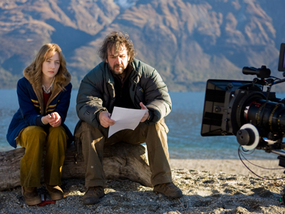 Peter Jackson, Saoirse Ronan, ... | Peter Jackson The Lovely Bones He seems the perfect fit for the book's otherworldly spirituality.