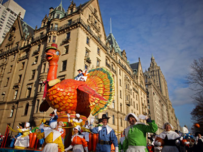 THE MACY'S THANKSGIVING DAY PARADE (Thursday, Nov. 26) Matt Lauer, Meredith Vieira, and Al Roker host this annual Turkey Day tradition of bringing together ginormous…
