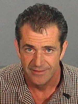 Mel Gibson   After being pulled over on suspicion of drinking and driving on July 28, 2006, Gibson uttered the 13 words that would change his life forever:…