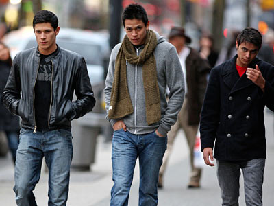 The Twilight Saga: New Moon | Alex Meraz , Chaske Spencer , and Kiowa Gordon play members of the Quileute Tribe wolf pack.