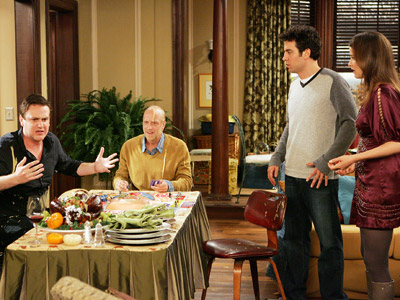 How I Met Your Mother | HOW I MET YOUR MOTHER (Monday, Nov. 23) The gang celebrates Slapsgiving 2 , and we couldn't be more excited if it were Chrismukkah all…
