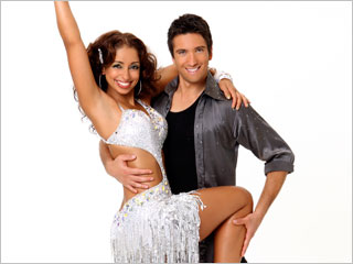 Dancing With the Stars | Mya and Dmitry toned down the flash and kicked up the technical prowess