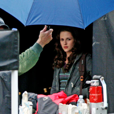 Kristen Stewart, The Twilight Saga: New Moon | Stewart 's Bella moves to Forks, Wash., the rainiest city in the United States.