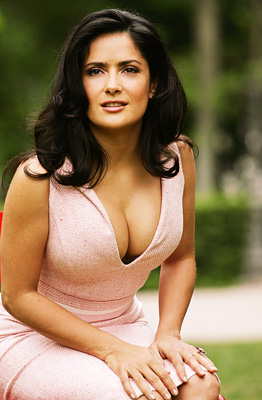 Salma Hayek | HAILS FROM: Mexico SEXIEST IN: After the Sunset (2004) Hayek has been cast as a stripper twice — albeit a vampire stripper ( From Dusk…