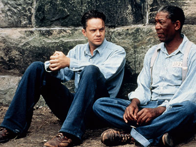 The Shawshank Redemption, Tim Robbins | The Shawshank Redemption (1994) I think I've watched Shawshank Redemption at least 100 times. Something about that movie always sucks me in. I own it…