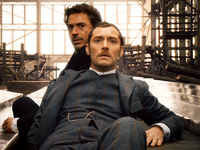 Jude Law, Robert Downey Jr., ... | Director Guy Ritchie and Iron Man star Robert Downey Jr. dust off the legendary super sleuth for a new adventure: Holmes takes on an evil…