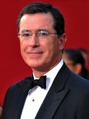 Stephen Colbert | Stephen Colbert. Don't forget, he and Steve Carell are the voices of the Ambiguously Gay Duo. — Chrispy