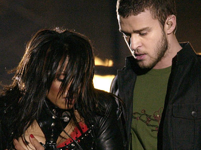 Janet Jackson, Justin Timberlake | During halftime of the 2004 Super Bowl, Janet Jackson and Justin Timberlake entertained together, singing a medley of ''All for You,'' ''Rhythm Nation,'' and ''Rock…