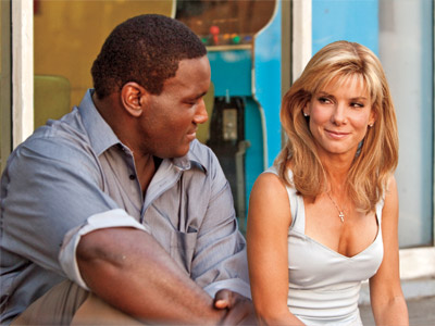 The Blind Side, Sandra Bullock | Selling points: Its lead performance by Sandra Bullock is the Best Actress frontrunner, it was the smash hit of the holiday season, and with its…