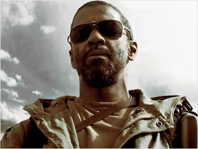 Denzel Washington, The Book of Eli | In their first feature since 2001's From Hell , the Hughes brothers ( Menace II Society ) give us a postapocalyptic thriller about a nomadic…