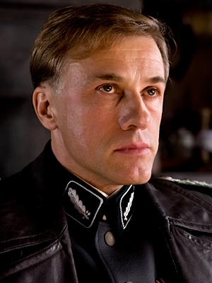 Christoph Waltz, Inglourious Basterds | Christoph Waltz Inglourious Basterds The Austrian actor's frighteningly charming quadrilingual SS colonel is the year's most memorable villain, hands down. Other possibilities Alec Baldwin, It's…