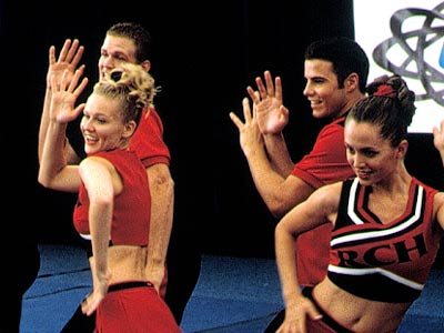 Bring It On, Kirsten Dunst | BRING IT ON (2000) Girls dig the razor-sharp satire and unforgettable characters; guys dig the short skirts. To paraphrase über-cheerleader Torrance Shipman (Kirsten Dunst), this…