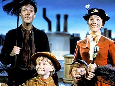 Mary Poppins, Dick Van Dyke, ...