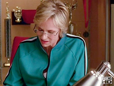 Glee, Jane Lynch | ''I always thought the desire to procreate showed deep personal weakness.''