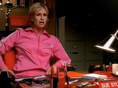 Glee, Jane Lynch | ''I am going to create an environment so toxic no one will want to be part of that club. Like the time I sold my…