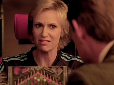 Glee, Jane Lynch | ''You sunk my battleship, Rod. And you sunk it hard.''