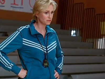 Glee, Jane Lynch | ''You think this was hard? Try auditioning for Baywatch and being told they're going in another direction. That was hard.''