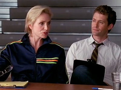 Jane Lynch, Glee | ''I'm about to projectile express myself all over your Hush Puppies.''