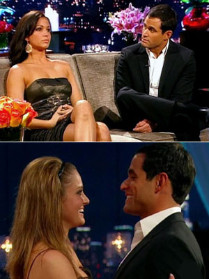 The Bachelor | The Bachelor (season 13) Finale aired March 2, 2009 Bachelor: Jason Mesnick Potential brides: Melissa Rycroft and Molly Malaney Kristen Baldwin wrote: On Melissa: ''After…
