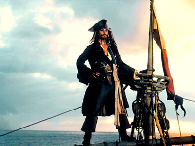 Pirates of the Caribbean: The Curse of the Black Pearl, Johnny Depp | JACKPOT: Pirates of the Caribbean: The Curse of the Black Pearl (2003) Pirate movies had been box office poison for decades when Disney decided to…