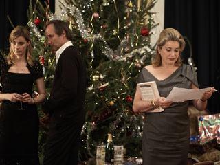 A Christmas Tale | A CHRISTMAS TALE Anne Consigny, Hippolyte Girardot and Catherine Deneuve celebrate the holidays