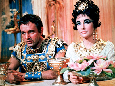 Richard Burton, Elizabeth Taylor, ... | BUST: Cleopatra (1963) At the time, this historical epic was the most expensive movie ever made. But the on-screen spectacle was overshadowed by the off-screen…