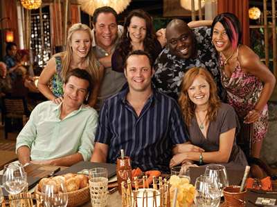 Couples Retreat, Vince Vaughn | The cast of Couples Retreat ''I felt betrayed by Jon Favreau and Vince Vaughn for Couples Retreat — not for just being in it, like…