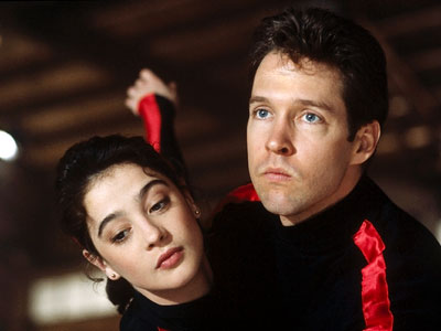 The Cutting Edge, D.B. Sweeney, ... | THE CUTTING EDGE (1992) Two words: Toe pick! This lovably ridiculous rom-com about a down-and-out hockey player (D.B. Sweeney) who becomes an Olympic-level figure skater…