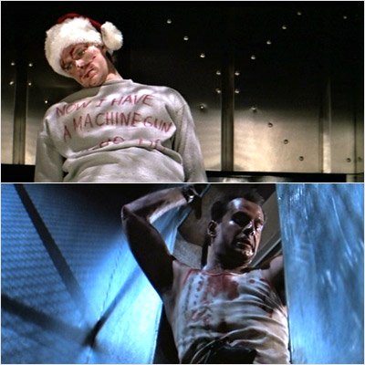 Die Hard, Bruce Willis | I watch Die Hard every year while I wrap gifts. Love it! — DawninDenber